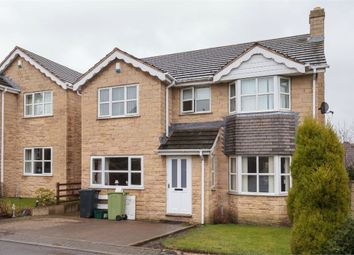 Thumbnail 4 bed detached house for sale in Moor View, Flockton, Wakefield, West Yorkshire