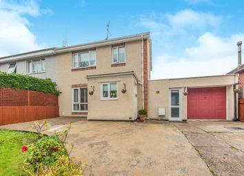 Thumbnail 3 bedroom semi-detached house for sale in Two Locks Road, Two Locks, Cwmbran