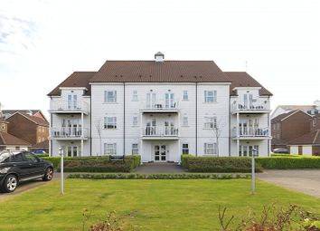 Thumbnail 2 bed flat for sale in Beaumont Drive, Worcester Park