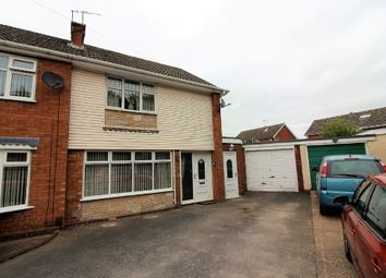 Thumbnail 3 bed semi-detached house for sale in Oaken Drive, Willenhall