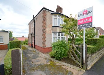 Thumbnail 2 bed semi-detached house for sale in Hurlfield Avenue, Sheffield