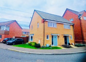 Thumbnail 2 bed semi-detached house for sale in Fieldfare, Leighton Buzzard, Bedfordshire, Bedfordshire