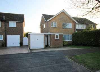 Thumbnail 3 bed semi-detached house for sale in Tintagel Close, Basingstoke