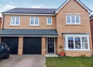 Thumbnail 5 bed detached house for sale in Red House Gardens, Netherton Lane, Bedlington