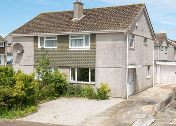 Thumbnail 3 bed semi-detached house for sale in Polstain Road, Threemilestone, Truro