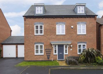 Thumbnail 5 bed detached house for sale in St. Louis Close, Hinckley