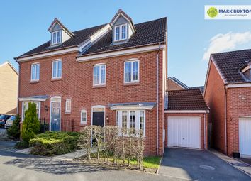 Thumbnail 4 bed semi-detached house for sale in Chervil Close, Newcastle Under Lyme