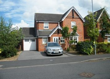 Thumbnail 4 bed detached house for sale in Newland Way, Nantwich, Cheshire