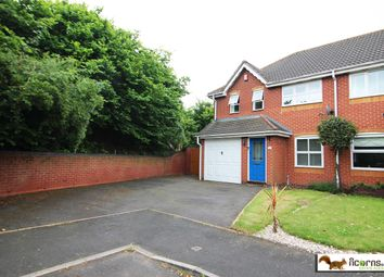 Thumbnail 3 bed semi-detached house for sale in Evenlode Grove, Willenahll