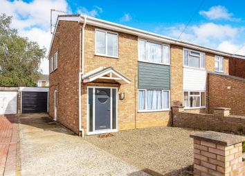 Thumbnail 3 bed semi-detached house for sale in Bishops Road, Eynesbury, St. Neots
