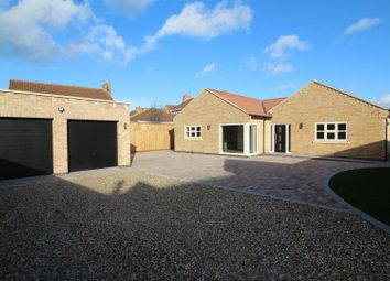 Thumbnail 4 bed detached bungalow for sale in Snoots Road, Whittlesey, Peterborough