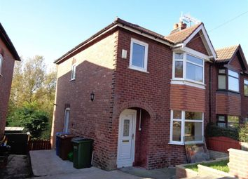 Thumbnail 3 bed semi-detached house to rent in Sandringham Road, Bredbury, Stockport