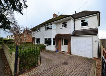 Thumbnail 4 bed semi-detached house for sale in Hatherley Road, Cheltenham