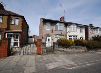 Thumbnail 3 bed semi-detached house to rent in Poulton Road, Wallasey, Wirral