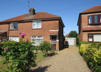 Thumbnail 3 bedroom semi-detached house for sale in Lambert Road, Sprowston, Norwich