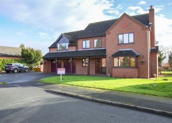 Thumbnail 5 bed detached house for sale in Manor Close, Hinstock, Market Drayton, Shropshire