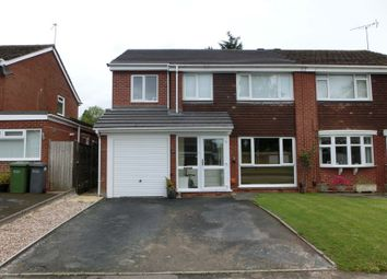 Thumbnail 4 bed semi-detached house for sale in Cheswick Way, Cheswick Green, Solihull