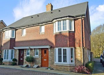 Thumbnail 3 bed semi-detached house for sale in Alderman Place, Kings Hill, West Malling, Kent