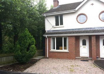 Thumbnail 3 bed semi-detached house to rent in Lagan Villas, Dromore