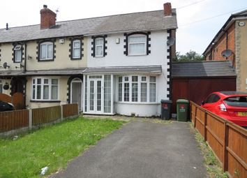 Thumbnail 3 bed end terrace house for sale in Forest Lane, Walsall