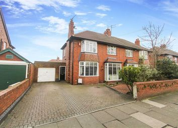 Thumbnail 4 bed semi-detached house for sale in The Broadway, Cullercoats, Tyne And Wear