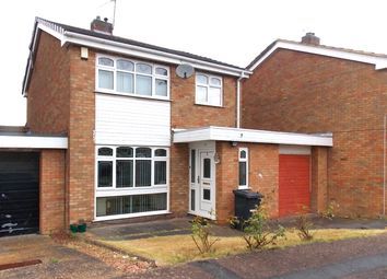 Thumbnail 3 bedroom link-detached house for sale in Colebrook Close, Leicester