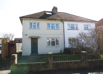 Thumbnail 5 bed semi-detached house to rent in Kingsley Avenue, Englefield Green, Egham