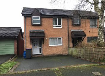 Thumbnail 2 bed semi-detached house for sale in Dinchope Drive, Hollinswood, Telford