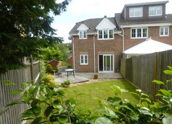 Thumbnail 3 bedroom end terrace house for sale in Badgers Copse, Park Gate, Southampton