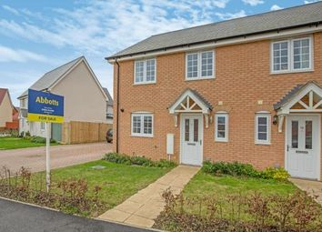 Thumbnail 4 bed semi-detached house for sale in Wymondham, Norwich, Norfolk