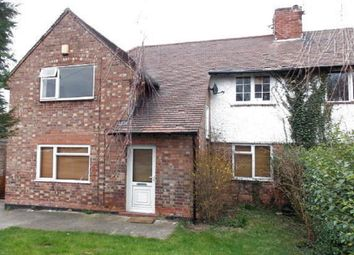 Thumbnail 3 bed town house for sale in Edwinstowe Drive, Nottingham