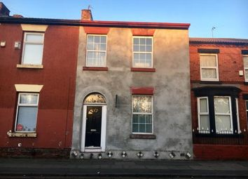 Thumbnail 4 bed terraced house for sale in 118 Wellington Road, Wavertree, Liverpool