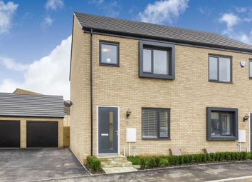 Thumbnail 3 bedroom semi-detached house for sale in Holden Avenue, Oxley Park, Milton Keynes