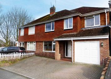 Thumbnail 5 bedroom semi-detached house to rent in Buckingham Road, Swindon, Wiltshire