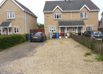 Thumbnail 3 bed property to rent in Oakham Close, Desborough, Kettering