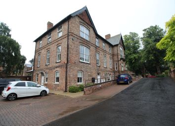 Thumbnail 2 bed flat for sale in Claremont Villas, Trinity Road, Darlington, Durham