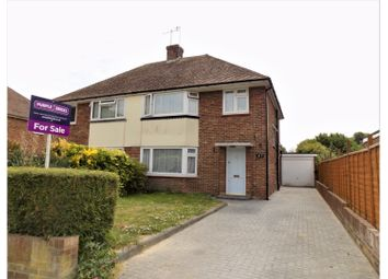 Thumbnail 3 bed semi-detached house for sale in The Strand, Worthing