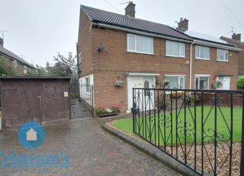 Thumbnail 3 bed semi-detached house for sale in The Oval, Sutton-In-Ashfield