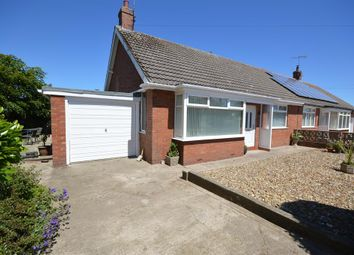 Thumbnail 2 bed semi-detached bungalow for sale in Wrangham Drive, Hunmanby, Filey