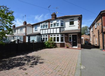 Thumbnail 3 bed semi-detached house for sale in Woodham Lane, Addlestone, Surrey