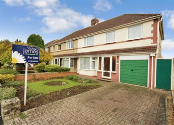 Thumbnail 4 bedroom semi-detached house for sale in Wigmore Avenue, Lawn, Swindon, Wiltshire