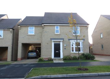 Thumbnail 4 bedroom detached house for sale in Harrier Close, Weldon, Corby