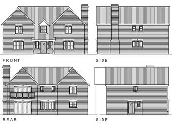 Thumbnail 4 bed detached house for sale in Great Fen Road, Soham, Ely