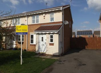 Thumbnail 3 bed end terrace house for sale in Skylark Close, Bingham, Nottingham