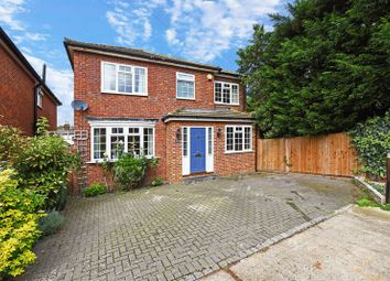 Thumbnail 4 bed detached house to rent in Rushett Close, Thames Ditton