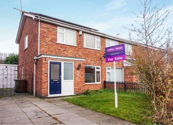 Thumbnail 3 bed semi-detached house for sale in Conway Close, Loughborough