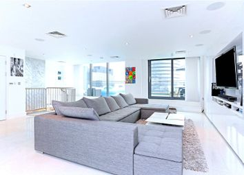 Thumbnail 4 bed flat for sale in Millharbour, London