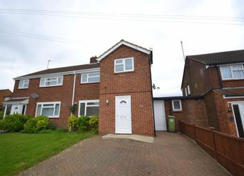 Thumbnail 3 bed semi-detached house for sale in Arundel Grove, Bletchley, Milton Keynes, Buckinghamshire