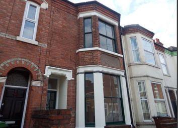Thumbnail 4 bed terraced house to rent in Church Drive, Carrington, Carrington, Nottingham