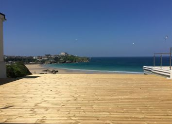 Thumbnail 2 bed flat for sale in Cliff Road, Newquay